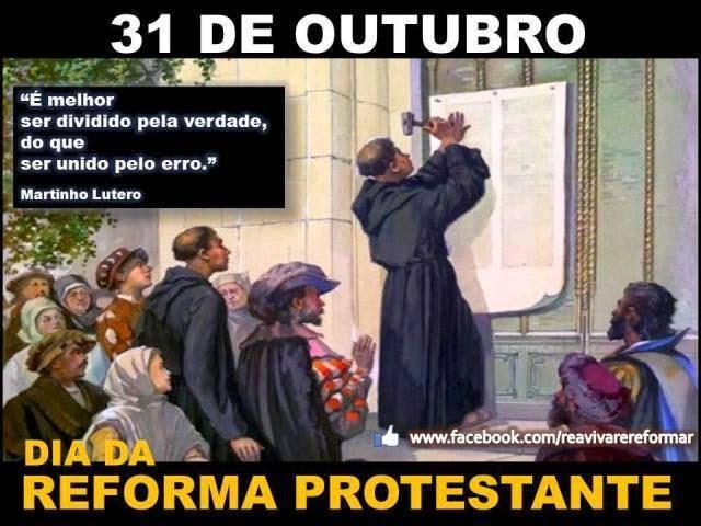 Resultado de imagem para lutero pregando as 95 teses