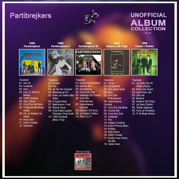 Samo sviraj: Partibrejkers Unofficial Album Collection Vol  01