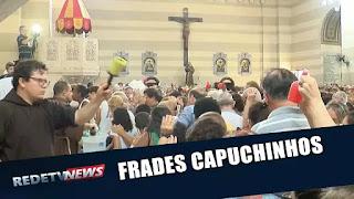 Bênção dos Capuchinhos atrai fiéis no Rio de Janeiro