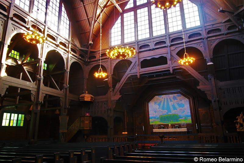 Kiruna Church Interior Sweden
