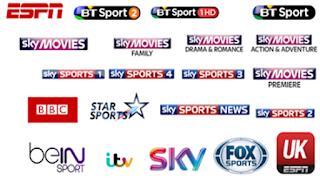احدث قائمة playlist Sports قنوات لجميع باقات الرياضة 25/10/2019