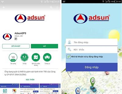App Adsun GPS