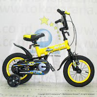 12 Inch Element 911 Police BMX Kids Bike