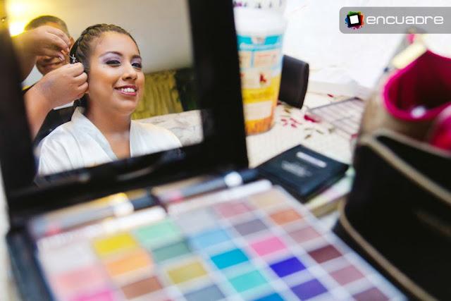 sesion fotos novia maquillaje