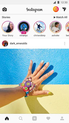 تطبيق Instagram نسخة كاملة باخر تحديث مجانا برابط مباشر سريع .