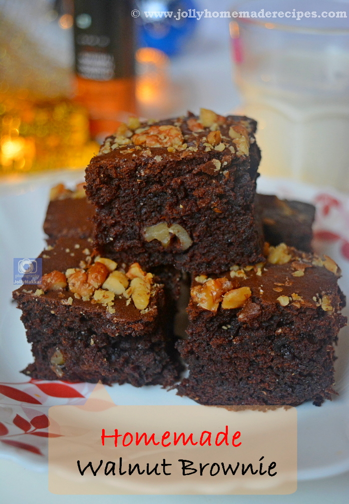 Homemade Walnut Brownie Recipe