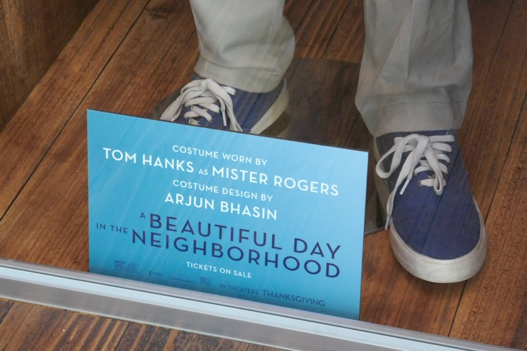A Beautiful Day in Neighborhood Mister Rogers sneakers