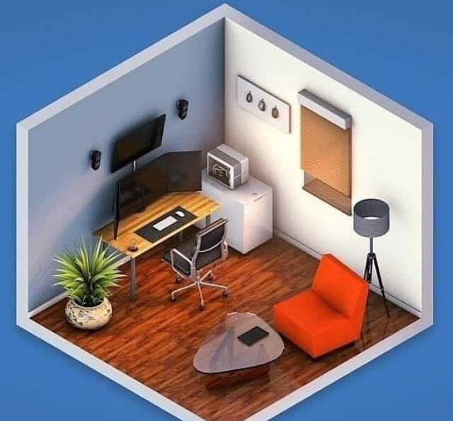 Konsep Desain Ruang Komputer Keren Untuk Desainer Programmer