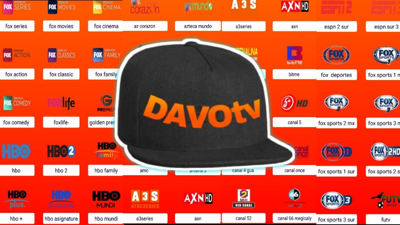 شاهد محتوى امريكا من هذا التطبيق لاتيني لمشاهدة كل القنوات مجانا/Davo-Tv