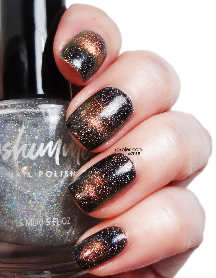 xoxoJen's swatch of KBShimmer A Star Is Formed