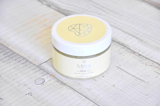 naturalny peeling miya cosmetics all-in-one myskinhero