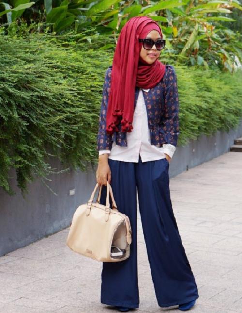fashion casual untuk lebaran idul fitri