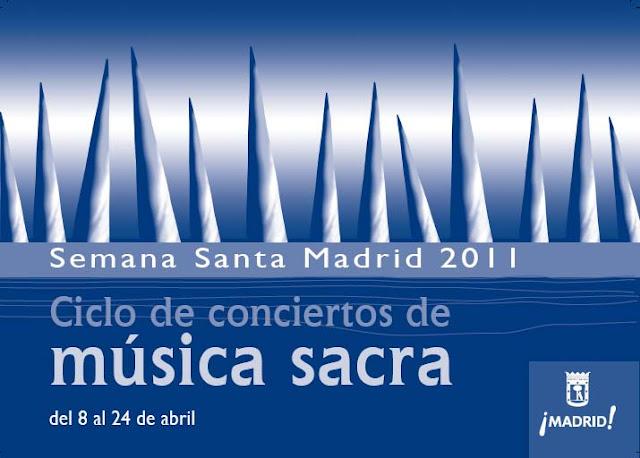 Programación de Conciertos en Semana Santa 2011.