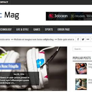 Zoom blogger themes blush multipurpose blogger template dynamic mag blogger template maxwellsz