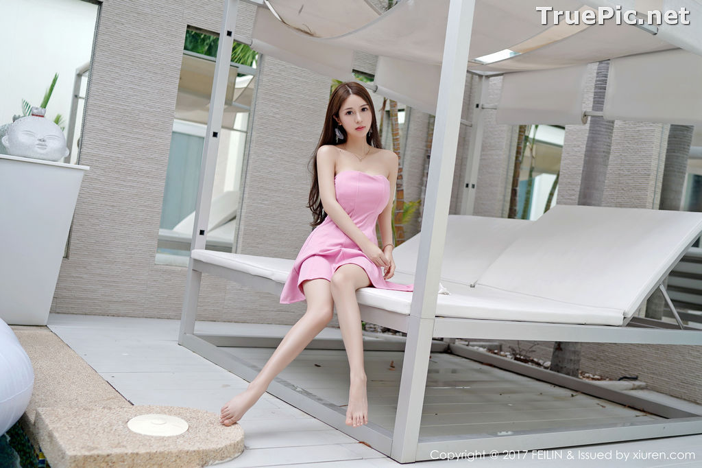 Image FEILIN Vol.105 - Chinese Pretty Model - Zhang Jing Yan (luna张静燕) - TruePic.net - Picture-6