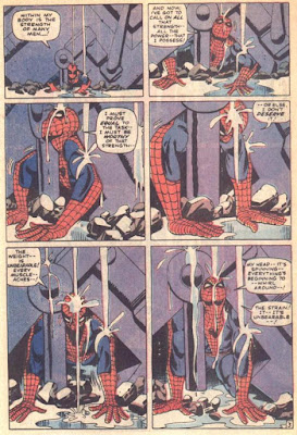 Reproduction of a page from Amazing Spider-Man issue 33