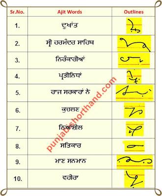 08-june-2020-punjabi-shorthand-outlines