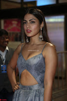 Rhea Chakraborty in a Sleeveless Deep neck Choli Dress Stunning Beauty at 64th Jio Filmfare Awards South ~  Exclusive 165.JPG