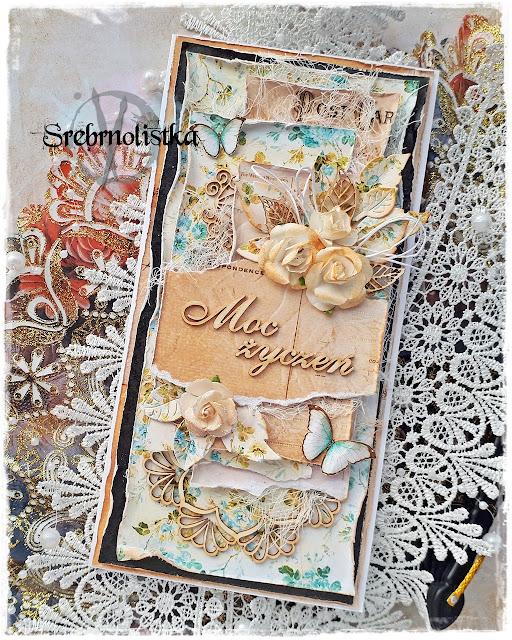 Romantyczna kartka w stylu vintage