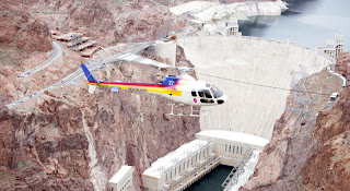 Mosaic Globe Travel the world RTW- Family Travel Helicopter to the Grand Canyon in Las Vegas