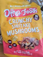 Shitake mushroom snack