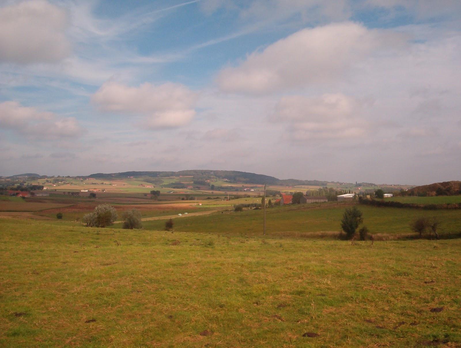 het West-Vlaamse Heuvelland: de Kemmelberg