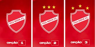 Torcida do Vila Nova vai escolher o novo escudo do clube