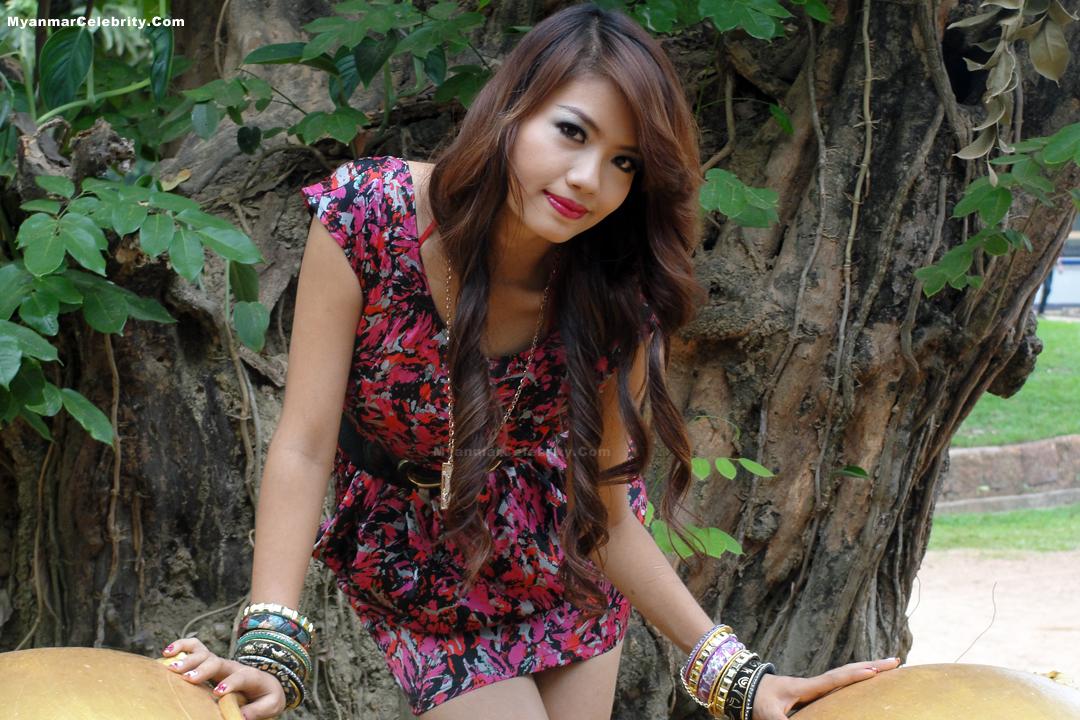 Photo Model Myanmar New Face Model Girl, Babe Maung-3533