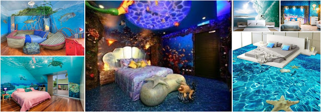 Bedroom Decor ideas Inspired By The Sea