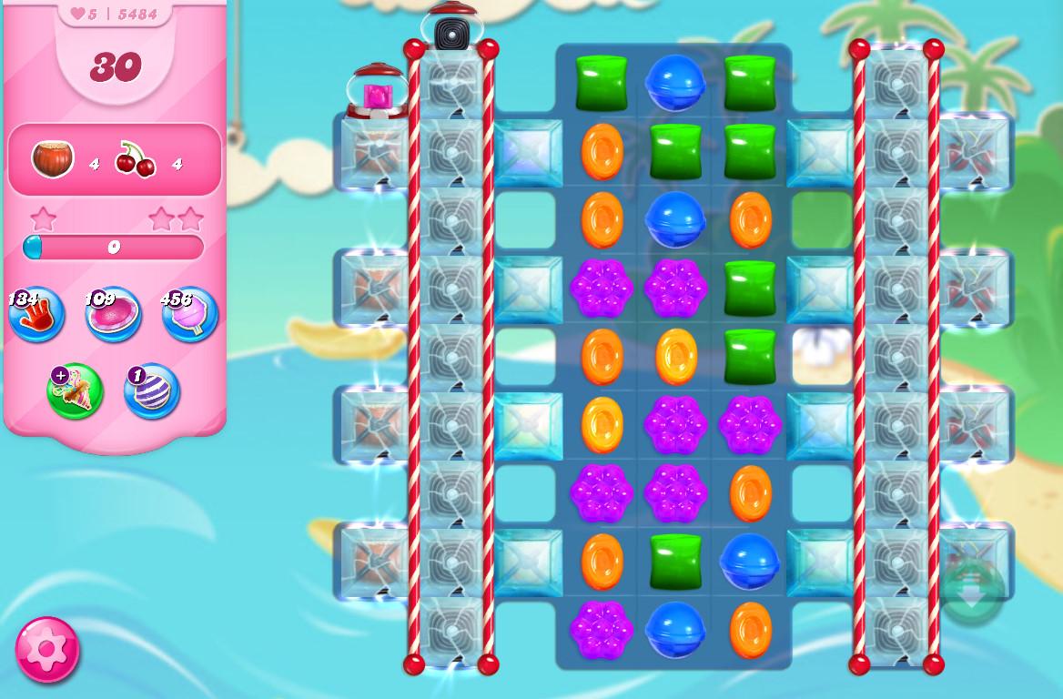 Candy Crush Saga level 5484