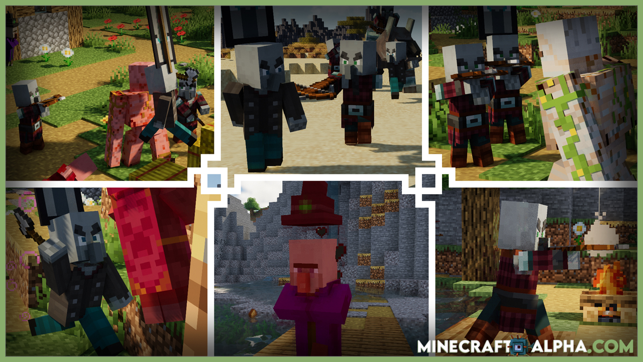 Minecraft Fresh Animations Resource Pack 1.17.1 (Realistic Mob Animatons)