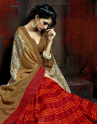 Latest Bhagalpuri Sari Designs