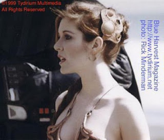 carrie fisher, behind the scenes, jedi