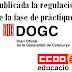 Publicada la resolució de la regulació de la fase de pràctiques