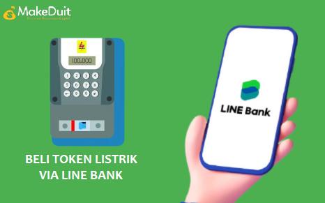 Cara Beli Token Listrik Via Line Bank