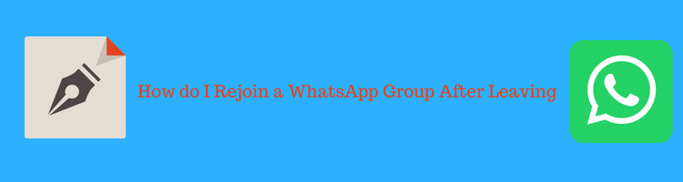 Rejoin a WhatsApp Group