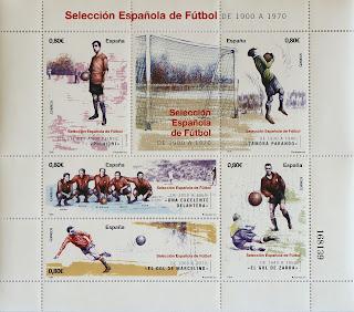 SELECCIÓN ESPAÑOLA DE 1900 A 1970
