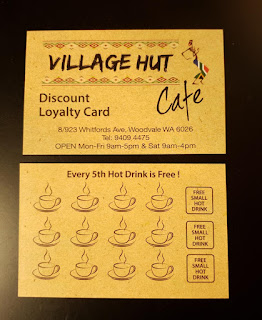 Hot Drink Discount Loyalty Card Promotion