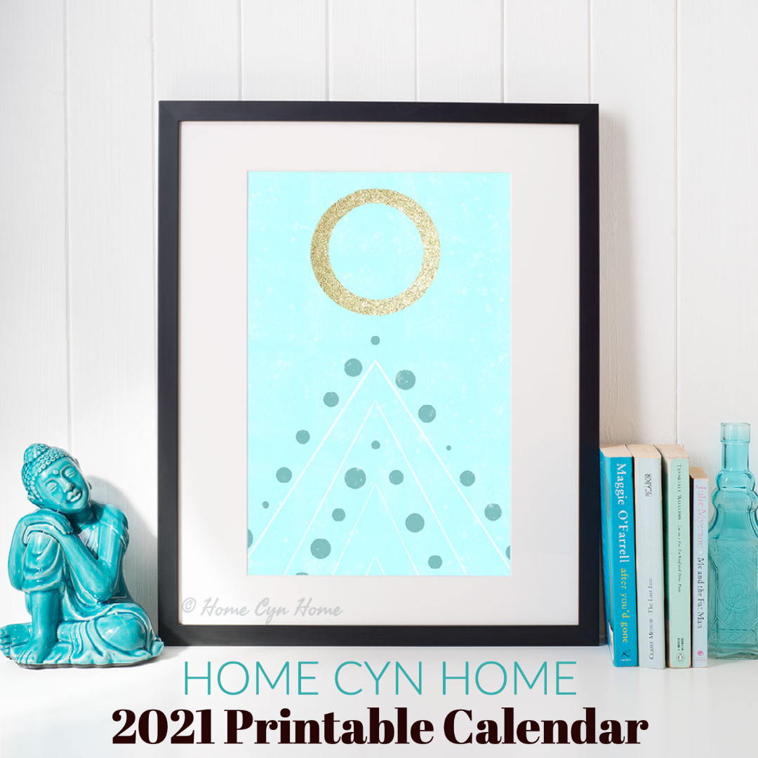 Home Cyn Home July 2021 printable calendar