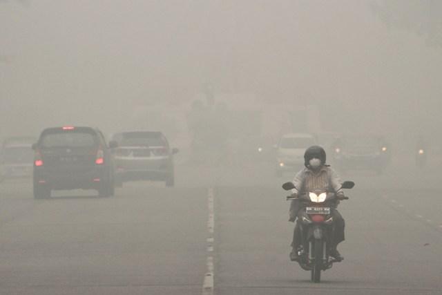 Kabut Asap di Pontianak Tak Ramai 'Digoreng', karena Gubernurnya Bukan Anies?