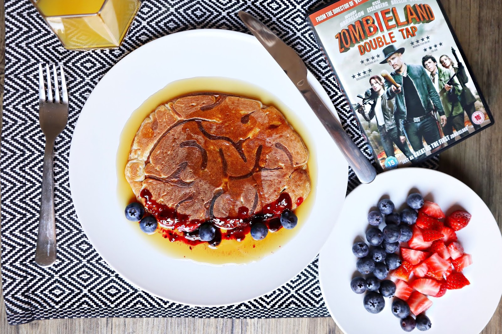 Lifestyle Review: Making Zombie Pancakes with Zombieland: Double Tap
