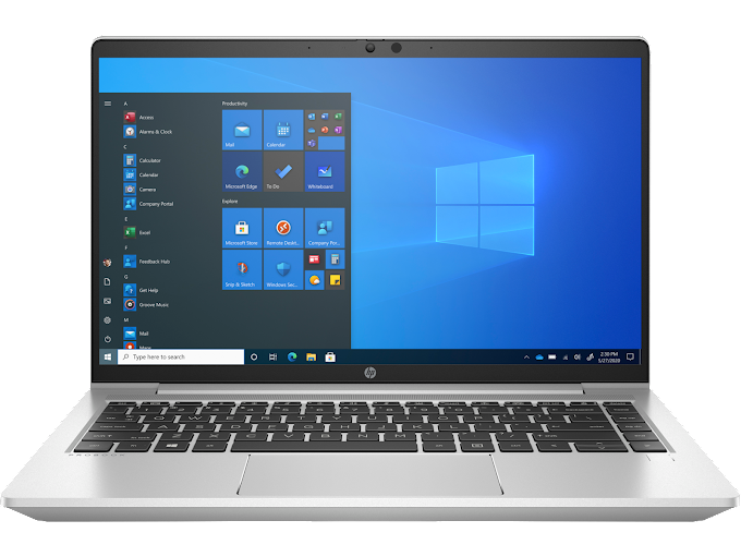 Remote work made easier, more secure with the HP ProBook 455 G8 powered by the latest AMD Ryzen™ PRO 5000 series processors
