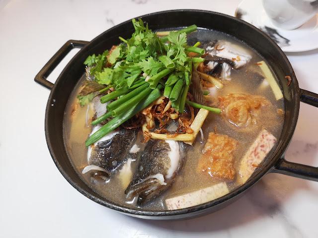 Seasonal Fish in Claypot