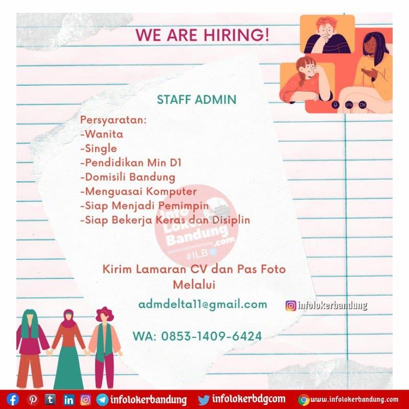 Lowongan Kerja CV. Arthagraha Bandung Juni 2021