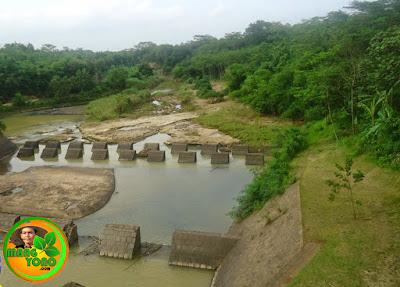 Sungai Ciasem, Bendungan Macan Dusun Gardu, Bendungan, Pagaden Barat