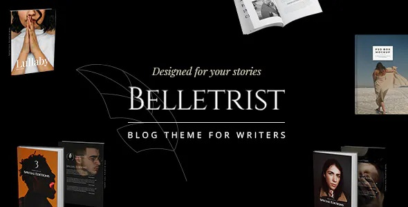 Premium WordPress Blog Theme for Writers