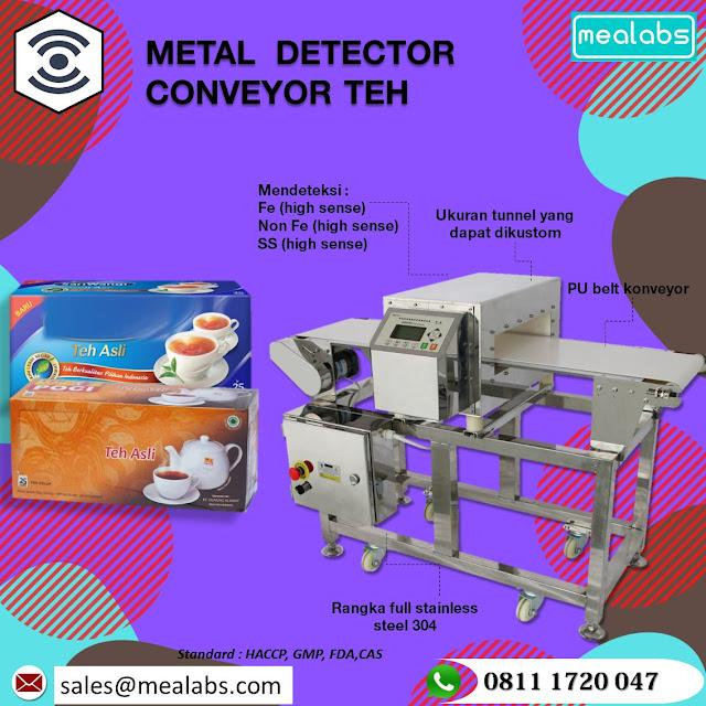 metal detector untuk teh
