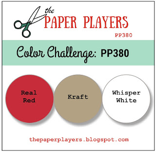 The Paper Players color challenge PP380