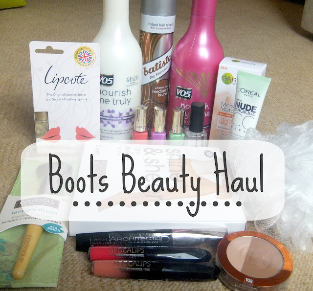 Boots Beauty Haul, Make Up Haul, Haircare, Beauty Tools, Drugstore Haul