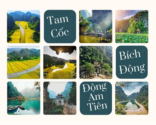 Tour Tam Cốc - Bích Động - Động Am Tiên mang dấu ấn kiếm hiệp